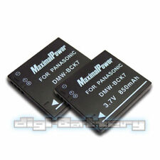 TWO BATTERIES for PANASONIC DMW-BCK7 DMWBCK7 DMW-BCK7PP NCA-YN101G BATTERY X 2