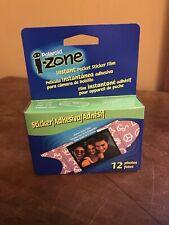 POLAROID I-Zone Instant Pocket Sticker Film 12 Photos SEALED Multiple Quantities