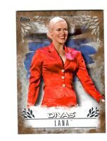 WWE Lana DR-19 2016 Topps Undisputed Bronze Parallel Card SN 33 of 99