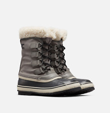 Sorel Women's Winter Carnival Boots 1855081/052 Quarry/Black NEW