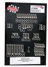 Engine Works Stainless Steel Engine Bolt Kit Ford FE 352-428 Complete Set
