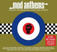MOD ANTHEMS (Original Northern Soul, R 'n' B & Ska Classics) 3 CD SET (2015)