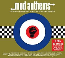 MOD ANTHEMS (Original Northern Soul, R 'n' B & Ska Classics) 3 CD SET (2015)