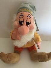 disney store snow white and seven dwarfs bashful plush toy new with tags