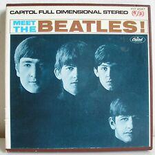 BEATLES Meet The Beatles REEL TO REEL 4 track stereo original tape Capitol