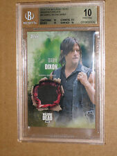 ✨ BGS 10 2016 WALKING DEAD DARYL DIXON NORMAN REEDUS SEASON 5 COSTUME RELIC CARD