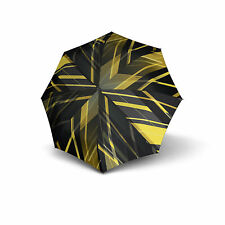 Knirps T200 Duomatic Women's Print Umbrella - Edinburgh Volcano
