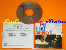 CD ART BLAKEY & JAZZ SINGERS Free for all Blue note 1994 italy(Xs6)lp mc dvd vhs