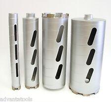 "1"", 2"", 3"", 4"" Combo - Dry Diamond Core Drill Bit for Concrete Masonry"