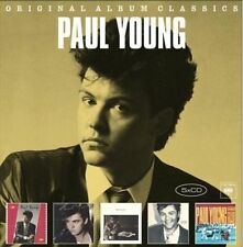 PAUL YOUNG 5CD NEW No Parlez/Secret Association/Between 2 Fires/Voices/Crossing