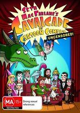 Seth MacFarlane's Cavalcade Of Cartoon Comedy - Uncut (Region 4 DVD, 2009)