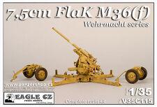 75mm FlaK M36(f) AA Wehrmacht WW2 gun 1/35 Eagle CZ