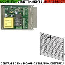 Centralina Alza Serrande Automatiche Incorpora Radio 433,92 Mhz Porte Sezionali