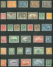 CANADA 1888/1937 Unused - 56 diff Scott $1,590.00