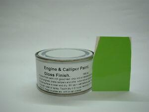 1 x 150ml Lime Green Gloss Heat Resistant To 200c Engine Caliper Enamel Paint