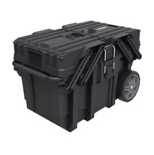 Rolling Tool Box Organizer Chest Rolling Case Portable Workshop Storage Cart Bin