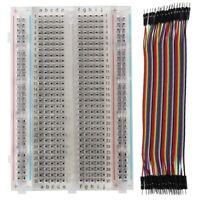 Experiment Board Breadboard Circuit Board ZYJ   60 Transparent NEW & 40pcs Z5X9