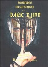 Forbidden Incantations of the Dark Djinn By Caselius, STARLIGHT BOOKS, OCCULT