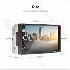 Podofo 2Din Android Car Stereo Multimedia Player 1G RAM &16G ROM GPS Navigation