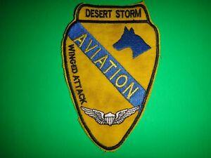 Desert Storm US 1st Cavalleria Divisione Combat Aviation Brigata Alato Attack