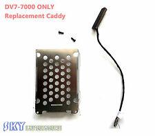 NEW REPLACEMENT HP DV7T Secondary Hard Drive Caddy & Cable  DV7-7000 & DV7T-7000