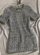 Fantastic CHANEL Dress - 38 - Strick Mini Kleid