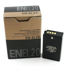 EN EL20 Camera Battery for Nikon Coolpix A 1 J1 J2 J3 S1 AW1 MH-27 Battery Batte