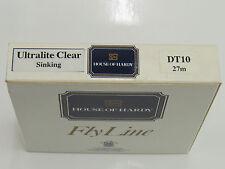 Hardy FlyLine Ultralite Clear sinking DT10 27m