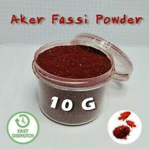 Organic Moroccan Cosmetic Aker Fassi Powder Deer Blood Pure Skin Hair Care 10G