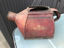 Antique Vintage Watering Can Original Red Paint