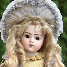 Antique BRU Bisque Doll 1890s JNER 9 voice original Dress very rare walking Doll