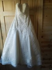 Oleg Cassini wedding dress size 4