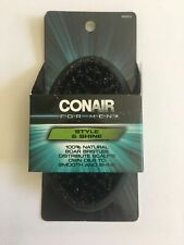 Conair For Men Style And Shine  100% Natural Boar Bristle Brush (Lot of 2)
