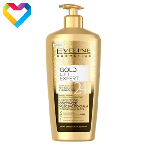 Eveline Gold Lift Expert Luxurious Body Balm With Gold Particles Dry Skin 350ml