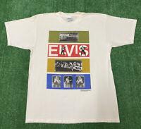 Vintage Elvis Presley King Of Rock N Roll Shirt Size XL