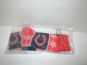 NIB Women's NFL Chicago Bears Snowflake Print Knee-High Socks Size 6-11
