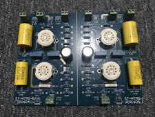 Audio 12AX7B+12AT7 Vacuum Tube Preamp HiFi Pre-Amplifier Assembled Board