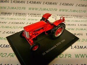 TR14 Tracteur 1/43 universal Hobbies  : IH McCormick F270 1964