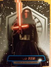2016 Star Wars The Force Awakens Series 2 #1 Kylo Ren Power of the First Order