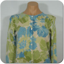 ANN TAYLOR Angora Blend Floral Cardigan Sweater, size S