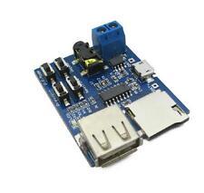 TF card U disk MP3 Format decoder board amplifier decoding audio Player module