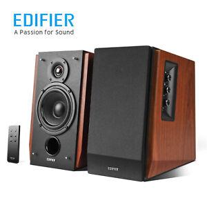 Edifier R1700BT Bluetooth Bookshelf Speakers Powered 2.0 Speaker Bass 66W RMS AU