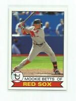 MOOKIE BETTS (Boston Red Sox) 2016 TOPPS ARCHIVES CARD #146