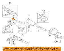 VW VOLKSWAGEN OEM 14-17 Passat 1.8L-L4 Exhaust-Muffler & Pipe Clamp 1K0253141T
