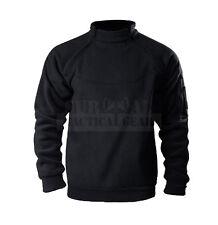 Tactical Soft Shell 2-Zip Warm Fleece Jacket Cold Weather Gear Polartec Fleece