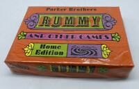 NEW Parker Brothers Rummy and Other Games Home Edition Vintage 1968