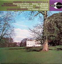 ECS 647 Festival Of English Music Vol. 2 Walton Butterworth Bax NEAR MINT Decca