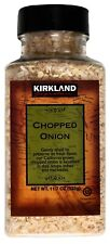 Kirkland Signature California Chopped Onion Dehydrated Spice, 11.7 Ounce