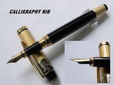 HERO 901 fountain pen GoldEN Black CALLIGRAPHY NIB pen