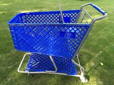 Toy's R Us shopping cart Toy Kids Store Carts Shop Fun Blue Vintage